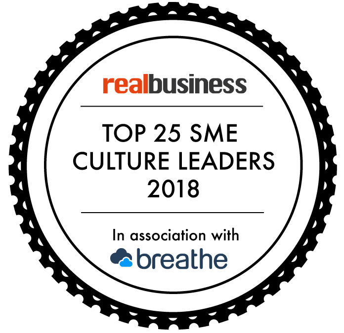 Eventura selected as one of the UK's Top 25 SME Culture Leaders