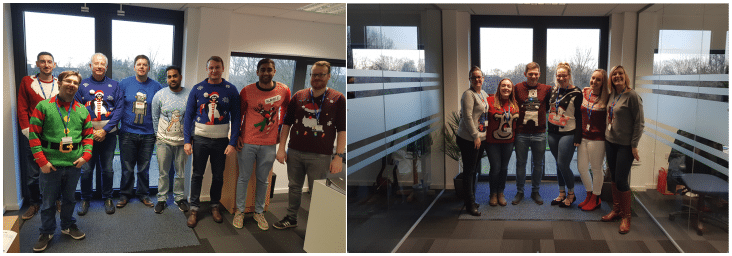 Eventura are set to make the world better with a sweater this Christmas Jumper Day